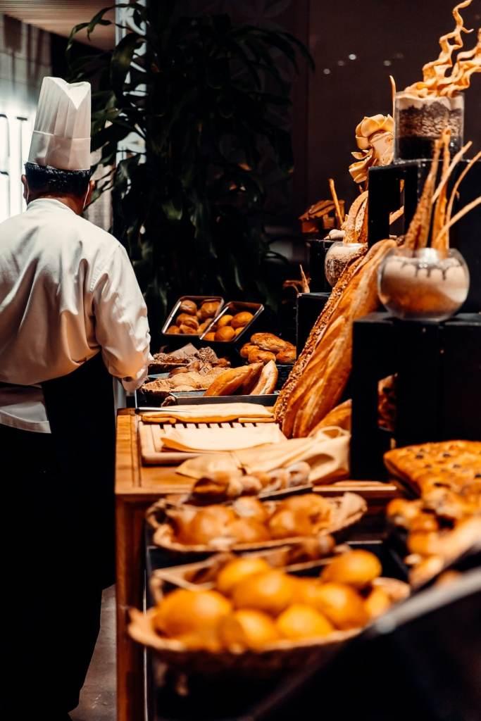 bread selection rixos premium dubai