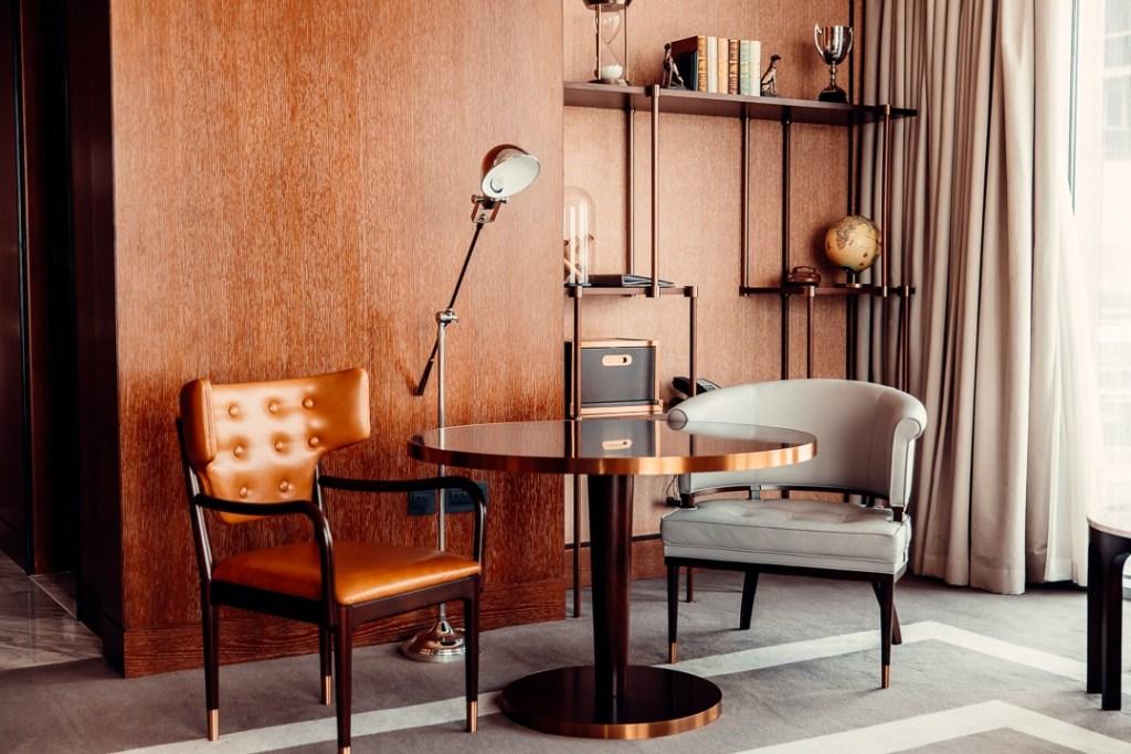 bureau suite waldorf astoria difc