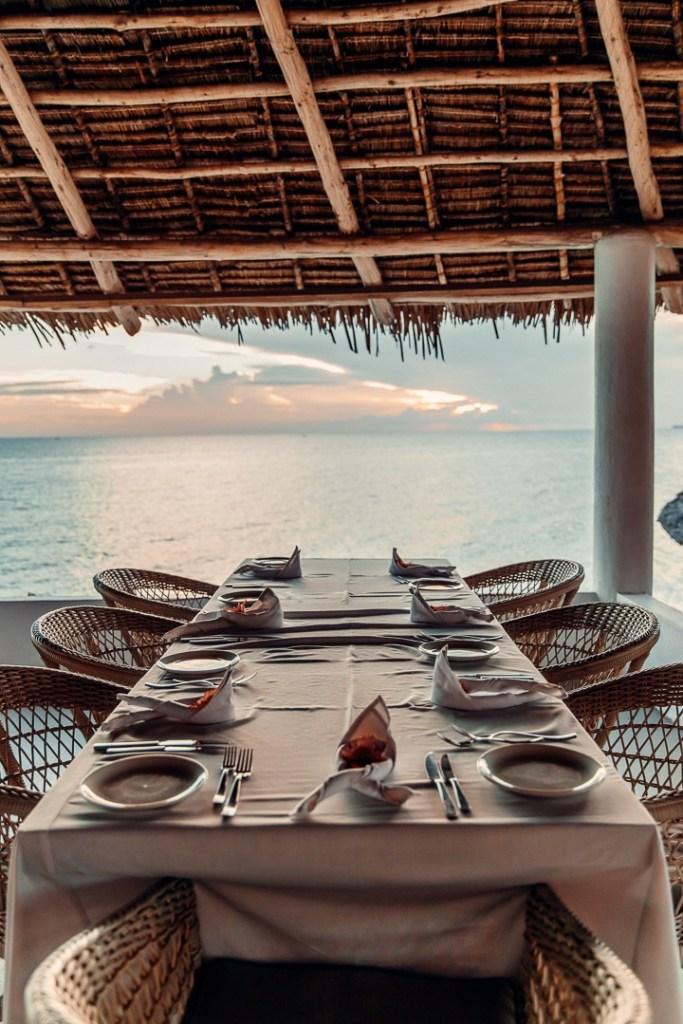 restaurant avec vue chuini zanzibar
