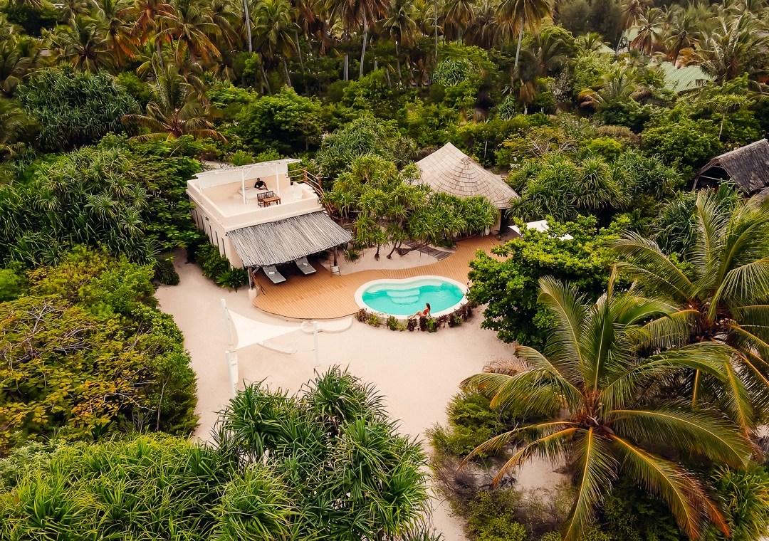 drone villa villa White Sand zanzibar