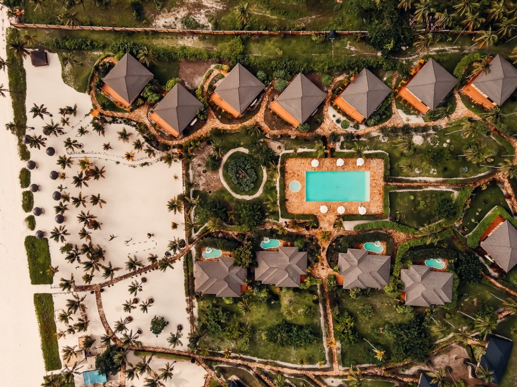 vue resort en drone the sands