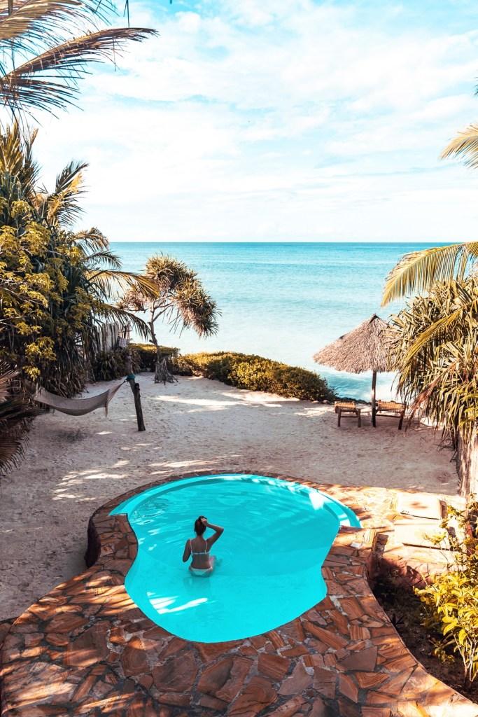 piscine villa zanzibari
