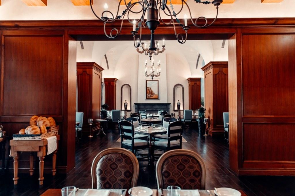 salle restaurant la villa toscana