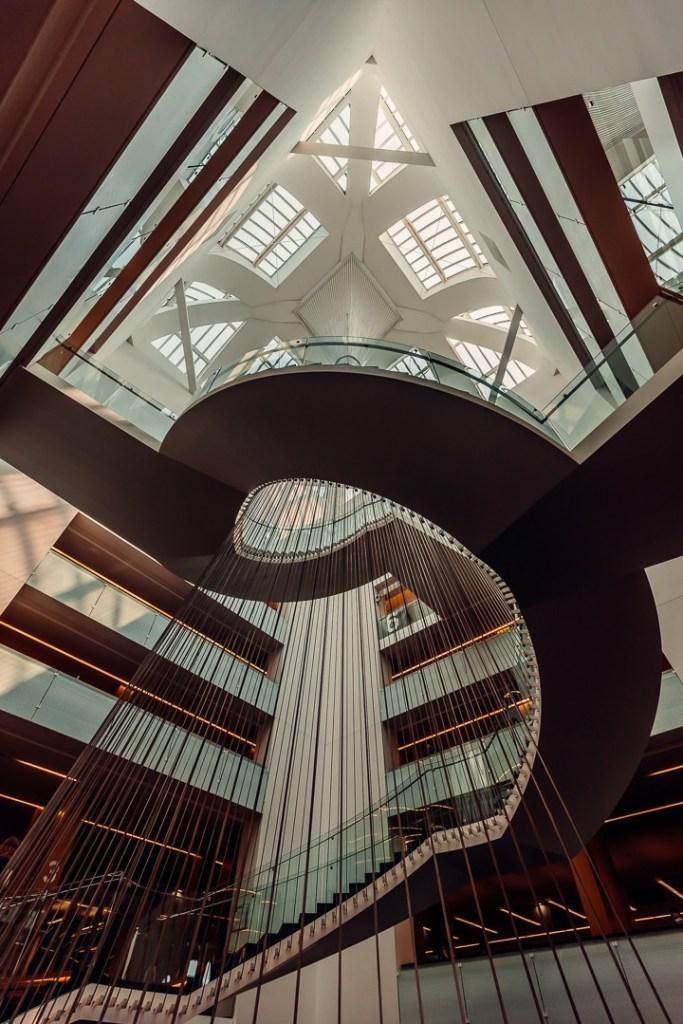 escalier bnu strasbourg