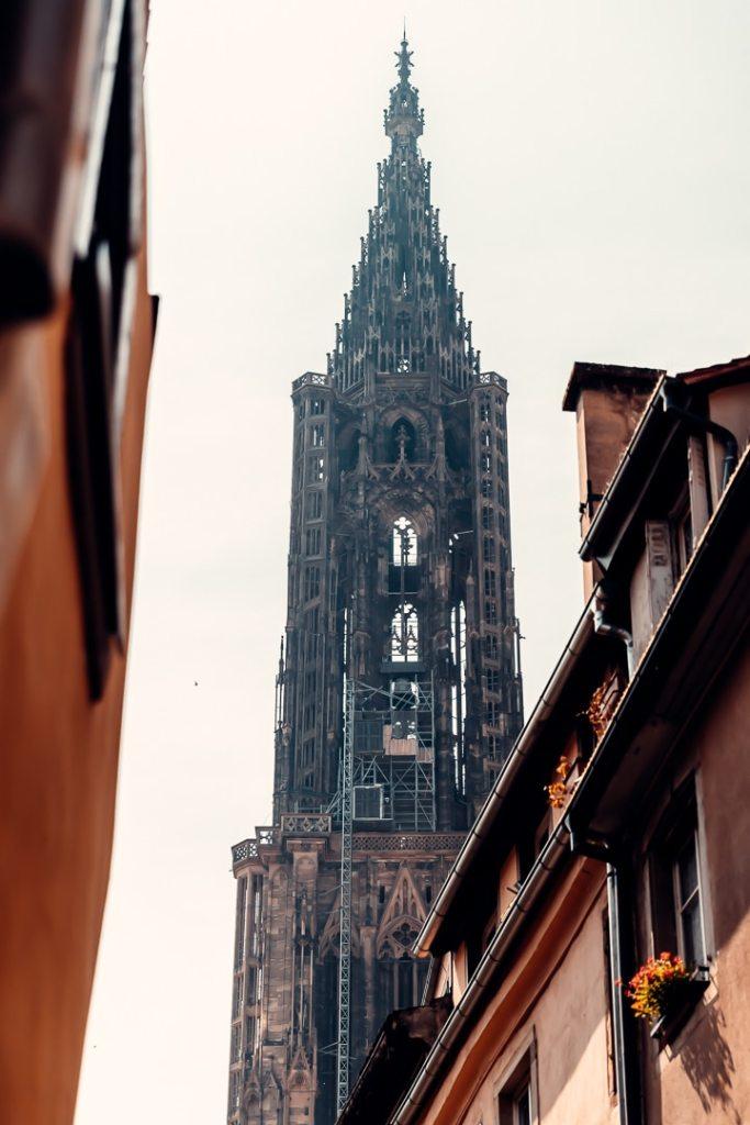 haut cathédrale strasbourg