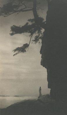 Anne W. Brigman - Infinitude, 1910