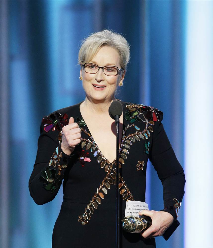 Dear 'Dame Streep'