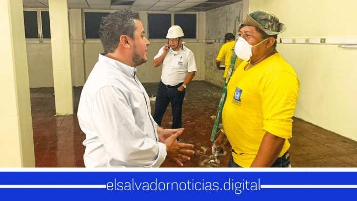 Ministro de Obras Publicas recupera y renueva espacios abandonados en Hospitales Nacionales