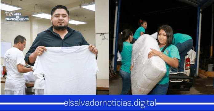 Osiris Luna entrega 40 mil uniformes a mujeres privadas de libertad