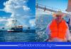 Pablo Anliker, primer ministro en ir mar adentro por las necesidades de los pescadores de El Salvador