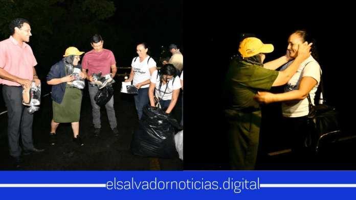 El héroe de la calles Maria Chichilco hombro a hombro 24/7