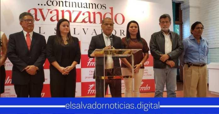 El FMLN no se cansa de querer ganar títulos ajenos.