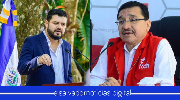 El Ministro Rogelio Rivas pone en su lugar a Medardo González del FMLN