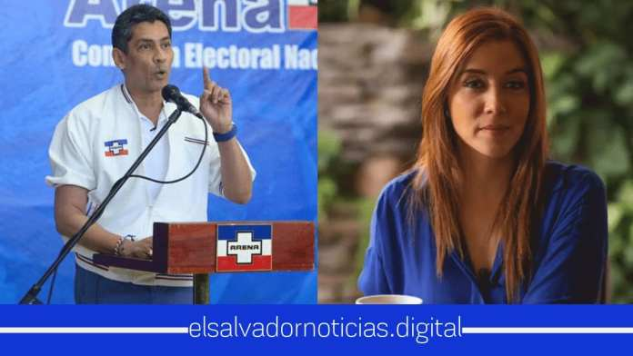 Diputada Felissa Cristales quiere fuera de ARENA a Gustavo Lopez
