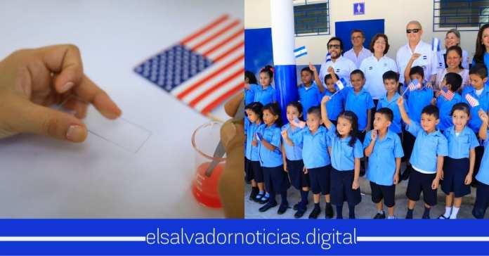 Inauguran remodelación Complejo Educativo José Simeón Cañas, con el apoyo de Estados Unidos