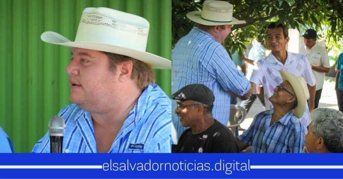 Primer Ministro de Agricultura que llega a brindar su ayuda a San Miguel