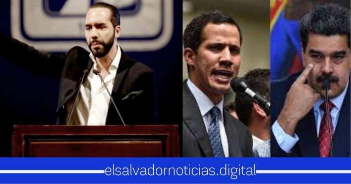 Gobierno de Nayib Bukele expulsa a diplomáticos de Venezuela