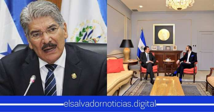 La envidia llego a Norman tras el encuentro de Nayib Bukele y Mario Ponce en Casa Presidencia
