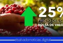 Bolsa de Valores anuncia el precio del café subiendo un 25%