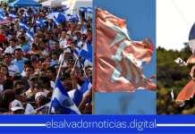 Salvadoreños exigen la cancelación definitiva de ARENA y el FMLN por los pactos que tienen con las pandillas