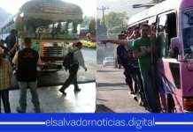 VMT realiza retención al transporte público por los que se quieran pasar de vivos cobrando más al pasaje