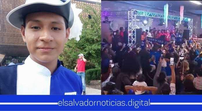 Salvadoreños en EEUU brindan su apoyo a Andy en su despedida de Los Ángeles