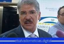 Norman Quijano es uno de los que brinda empleo a hija de su Amigo Roberto d'Aubuisson en el Palacio Azul