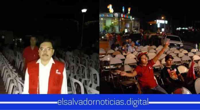 Medardo indignado de como la gente ya no cree en las palabras del FMLN