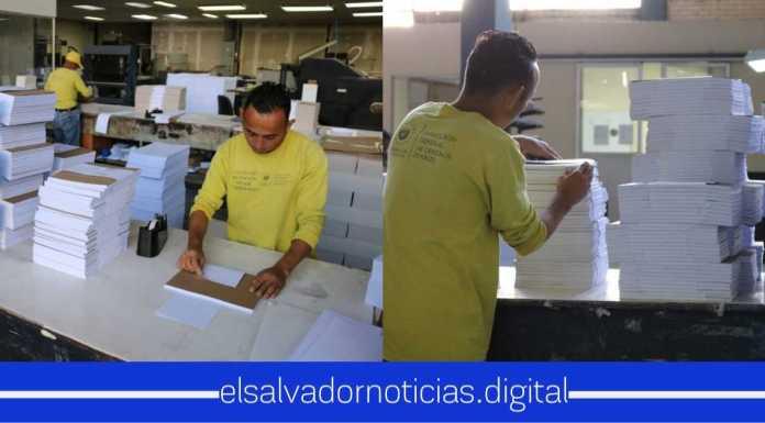 Primera vez en El Salvador reinsertan a Privados de Libertad a iniciar labores en Imprenta Nacional como Apoyo a la Comunidad