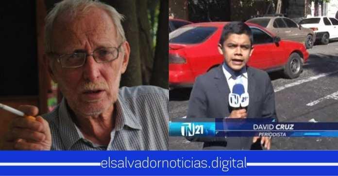 Paolo Lüers amenaza a periodista David Cruz por mantener al tanto a la población sobre el pacto de políticos con pandillas