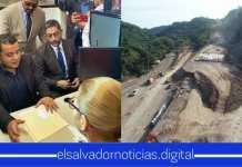 Ministro de Obras Públicas interpone aviso a la FGR por el abandono del ByPass de La Libertad por parte del FMLN