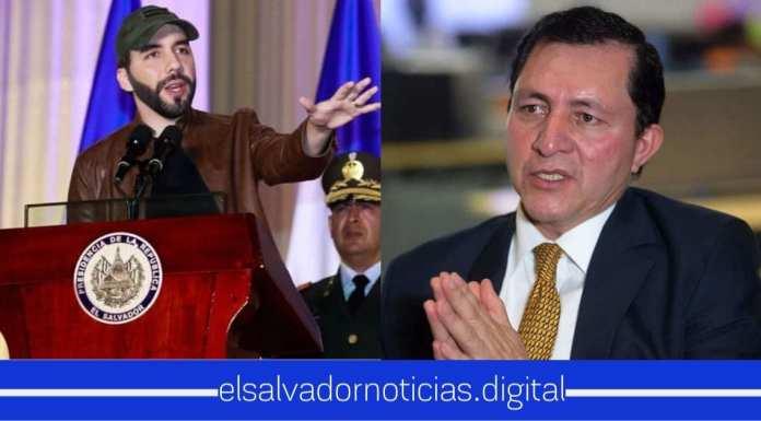 """Después de haber apartado la silla y ver de menos al Presidente, Mario Ponce asegura que """"quiere seguir apoyando a Bukele contra la delincuencia"""""""