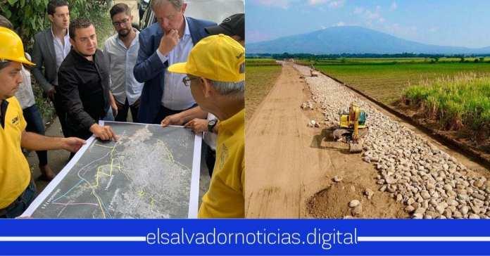 Periférico Claudia Lars una de las obras más grandes que se está desarrollando para volver más atractivo a El Salvador