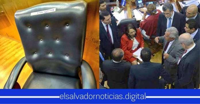 Diputados se reúnen para eliminar una silla de la Asamblea y NO para aprobar fondos de seguridad