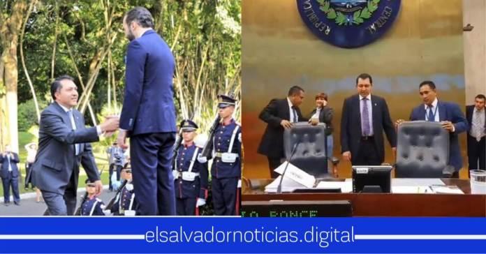 Salvadoreños dice que Mario Ponce apuñalo por la espalda al Presidente Nayib después de darle la mano