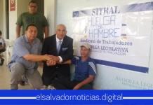Hugo Cerna es reinstalado después que se mantuvo en más de 48 horas de huelga de hambre por despido injustificado