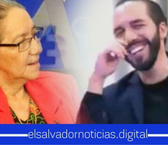 La jovencita de Norma Guevara, lamenta que los salvadoreños les digan sus verdades en la cara y señala al Presidente Bukele y a Nuevas Ideas como responsables