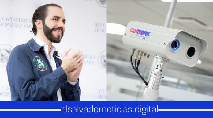 El Salvador ya cuenta con nuevas cámaras termográficas, para detectar casos sospechosos de coronavirus