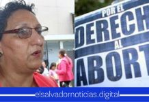 Lorena Peña exige el aborto legal en El Salvador, por el #DiaInternacionalDeLaMujer