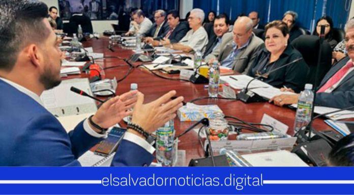 Sin los votos del FMLN la Comisión de Hacienda aprueba dictamen favorable para el préstamo de los $109 millones para el Plan Control Territorial