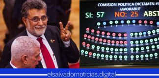 Con orgullo Shafik afirma que el FMLN jamás estará a favor de proteger la salud de los salvadoreños, demostrándolo con sus votos