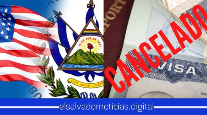 Embajada de la USA en El Salvador anuncia que se suspenden citas para solicitud de visas hasta nuevo aviso