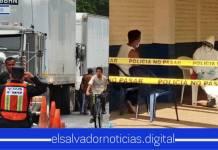 Transportista de carga es trasladado a centro de asistencia por presentar síntomas de COVID-19