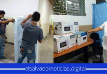 Gobierno equipa con refrigeradoras y microondas a Hospitales para los héroes sin capa que lucha por la vida de muchos salvadoreños