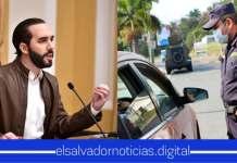 Presidente asegura tomar medidas duras para personas que no respetan cuarentena y así salvar la vida de muchos Salvadoreños