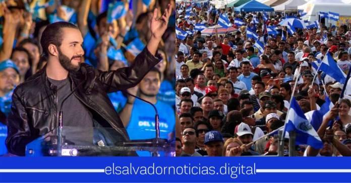 Presidente Nayib Bukele es respaldado por todo el pueblo salvadoreños tras la campaña de ataque