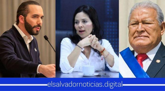 Bertha compara al Presidente Bukele con Sánchez Cerén porque no lo ha visto más por cadena nacional