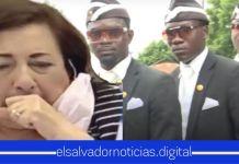 """Salvadoreños quieren contactar a """"los negros del ataúd"""" para encargar las cajas de todos los diputados"""