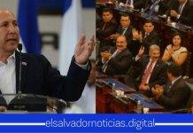 Javier Simán amenaza a diputados a no apoyar las medidas que implementa el gobierno para el cuido de los salvadoreños