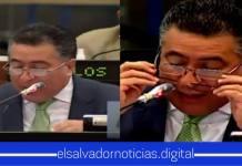 VÍDEO| Portillo Cuadra hace el ridículo al ponerse dos pares de lentes en la plenaria